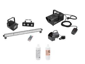 EUROLITE Set LED Mini-Partyset + B-50 + N-10 + Fluid