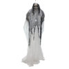 EUROPALMS Halloween Figure White Woman, Glow in the Dark, 210cm