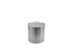 EUROPALMS STEELECHT-18, stainless steel pot, Ø18cm