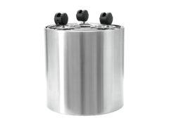 EUROPALMS STEELECHT-30, stainless steel pot, Ø30cm
