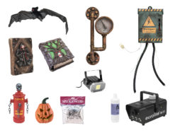 EUROPALMS Set Halloween Accessories