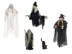EUROPALMS Set Halloween WITCHES