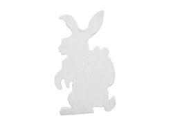 EUROPALMS Silhouette Easter Rabbit, white, 60cm