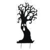 EUROPALMS Silhouette Metal Ghost Tree, 150cm