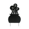 EUROPALMS Silhouette Metal Witch Pot, 83cm