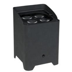 EventLITE 4/10 Q4 comprensivo di DMX Wireless, colore: Nero