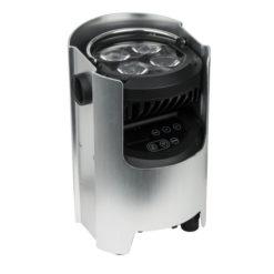 EventSpot 1600 Q4 4 LED RGBW da 12W, Alluminio spazzolato