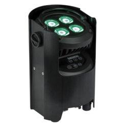 EventSpot 1600 Q4 4 LED RGBW da 12W, Nero