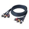 FL47 - 2x RCA + 1x Digital cable 1,5m