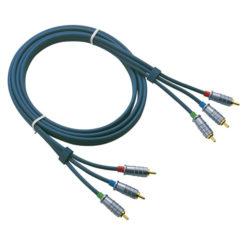 FV04 - Ø6 mm. 3 RCA/M > 3 RCA/M 1,5 m