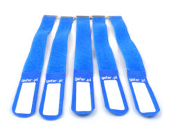 GAFER.PL Tie Straps 25x260mm 5 pieces blue