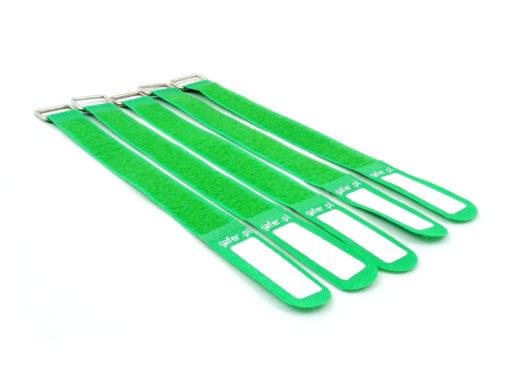 GAFER.PL Tie Straps 25x400mm 5 pieces green