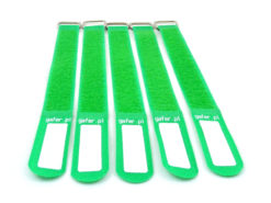 GAFER.PL Tie Straps 25x400mm 5 pieces green