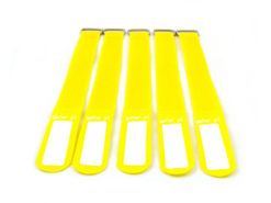 GAFER.PL Tie Straps 25x550mm 5 pieces yellow