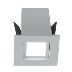 Hoorn LV-35 Square 3.000 K Argento 350mA 4.5W 45° 400Lm