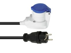 PSSO Adaptercable Safety Plug(M)/CEE 2.5 90°