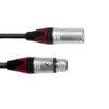 PSSO DMX cable XLR COL 3pin 10m bk Neutrik