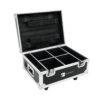 ROADINGER Flightcase 4x AKKU IP UP-4 QuickDMX with charging func