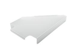 TRUSS4BARS Truss tray for 90° corner right/4mm