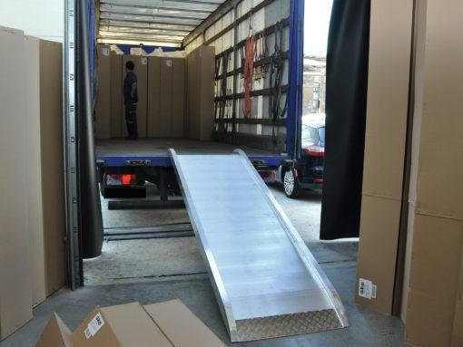 ALUTRUSS Truckramp 4m/110cm