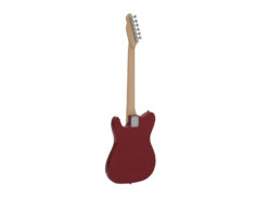DIMAVERY TL-501 Modern E-Guitar, red sparkle