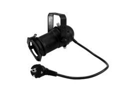 EUROLITE Set PAR-16 Spot GU-10 black + GU-10 230V LED SMD 7W 300