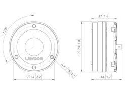 LAVOCE DN10.14M 1
