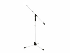 OMNITRONIC Microphone Tripod MS-1W with Boom Arm white