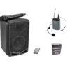 OMNITRONIC Set WAMS-65BT + Bodypack transmitter incl headset + B