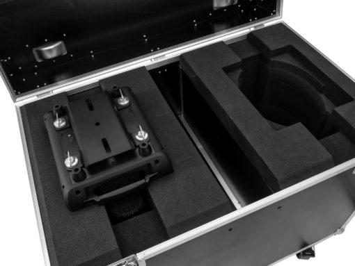 ROADINGER Flightcase 2x DMH-200 LED