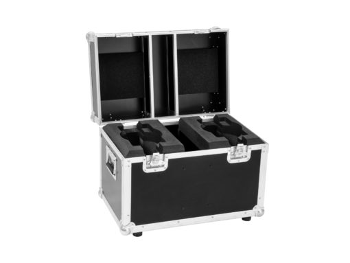 ROADINGER Flightcase 2x LED TMH-41