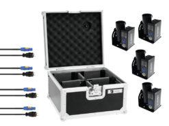 Set 4x TCM FX E-Shot + 4x Cables + Case