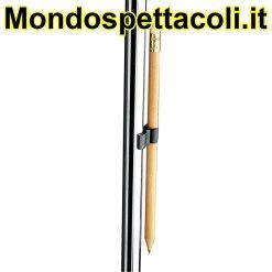 K&M black Pencil holder 16094-000-55