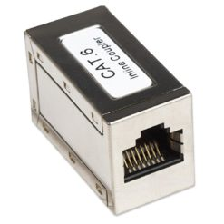 Accoppiatore RJ45 Cat6 8P8C Femmina/ Femmina, FTP, Silver
