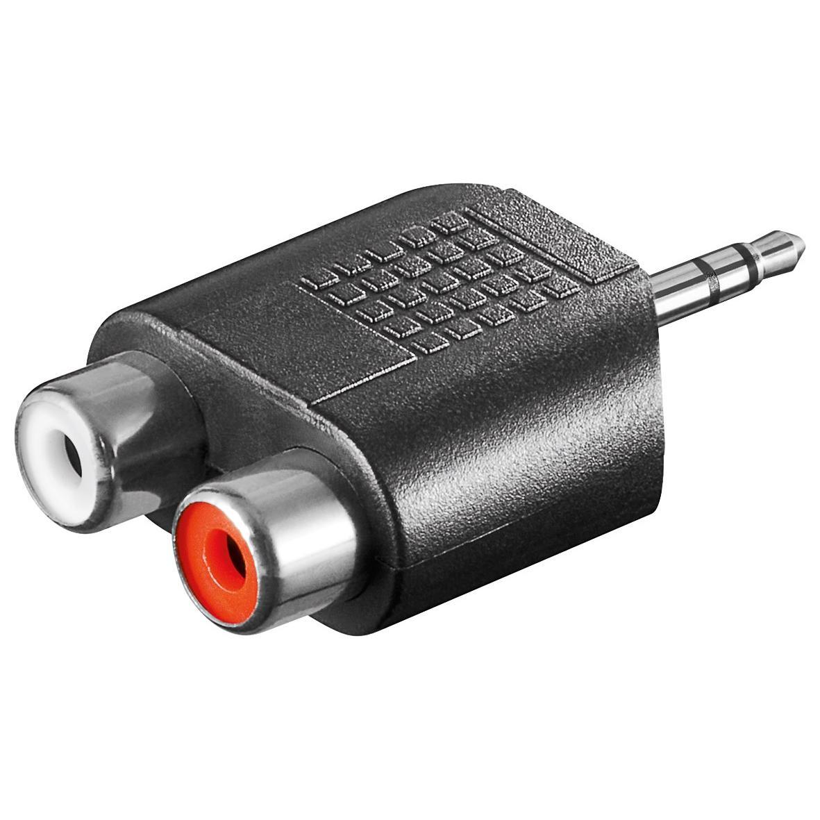 Adattatore Audio 3.5mm Maschio a 2 RCA Stereo Femmina