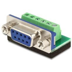 Adattatore DB9 pin Femmina Terminal Block 6 pin