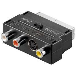 Adattatore Scart SVHS RCA Audio Video