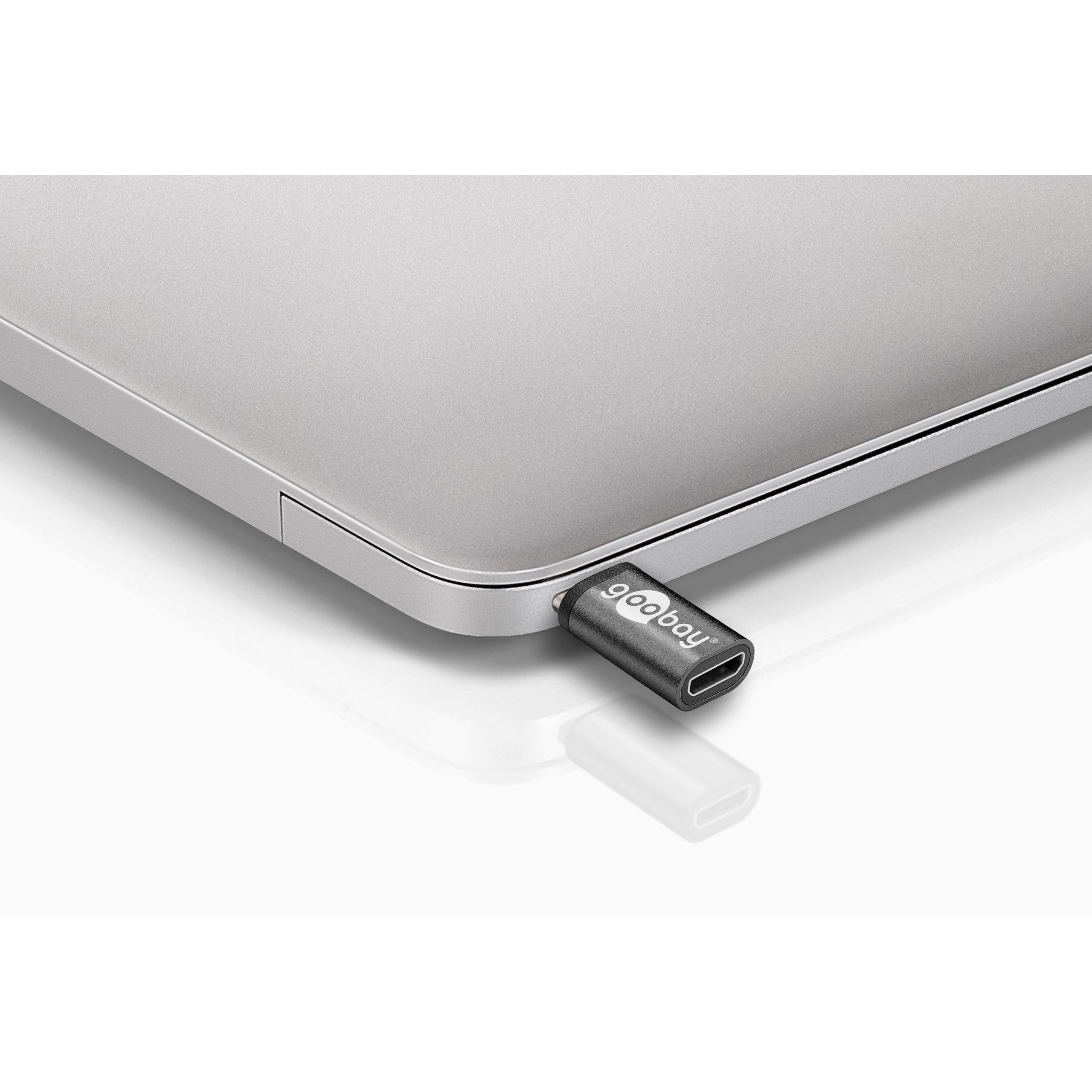 Adattatore USB-C™ Maschio a USB Micro-B Femmina Nero
