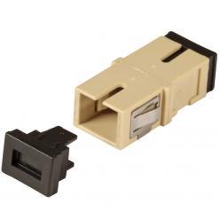 Adattatore a Bussola Keystone SC Simplex Multimodale Beige