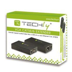 Amplificatore Extender VGA e Audio su Cavo di Rete