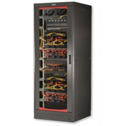 Armadio Server Rack 19'' 600x1000 27 Unita' Nero serie Lite