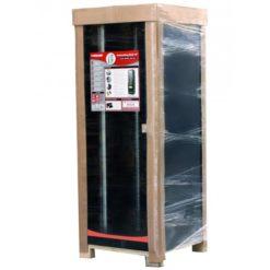 Armadio Server Rack 19'' 600x1000 27U Nero Serie Lite Porta Grigliata