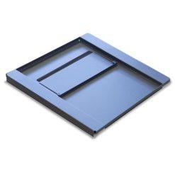 Base per Armadi Flat Pack Rack 19'' 600x600 mm Colore Nero