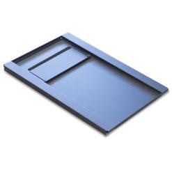 Base per Armadi Flat Pack Rack 19'' 600x800 mm Colore Nero