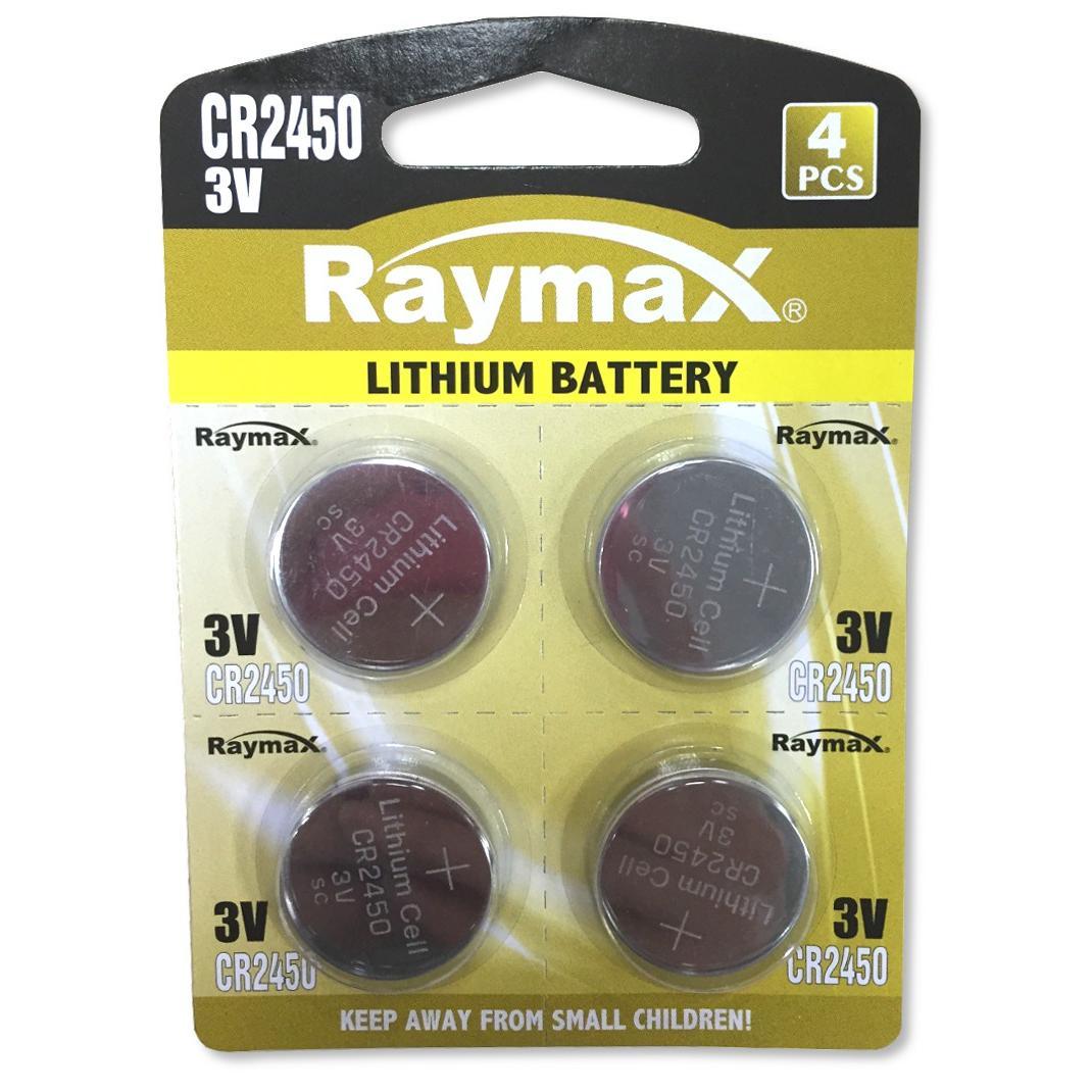 Batterie a Bottone Litio CR2450 (set 4 pz)