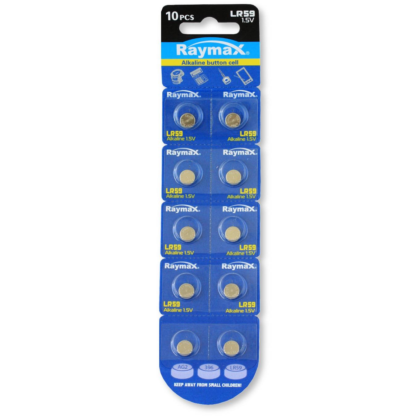 Batterie a bottone Alcalina LR59 LR726 396 AG2 (set 10 pz)