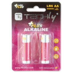 Blister 2 Batterie Power Plus Stilo AA Alcaline LR06 1,5V