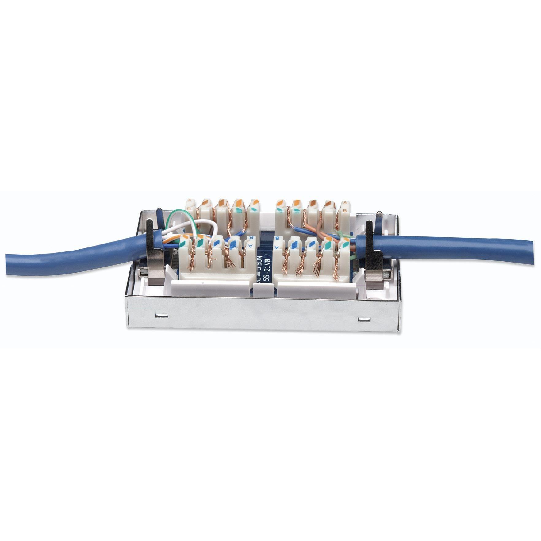 Box per Connessioni di Rete Cat6 FTP