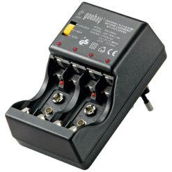 Caricabatterie per NiCD e NiMh con Tester e Funzione di Scarica