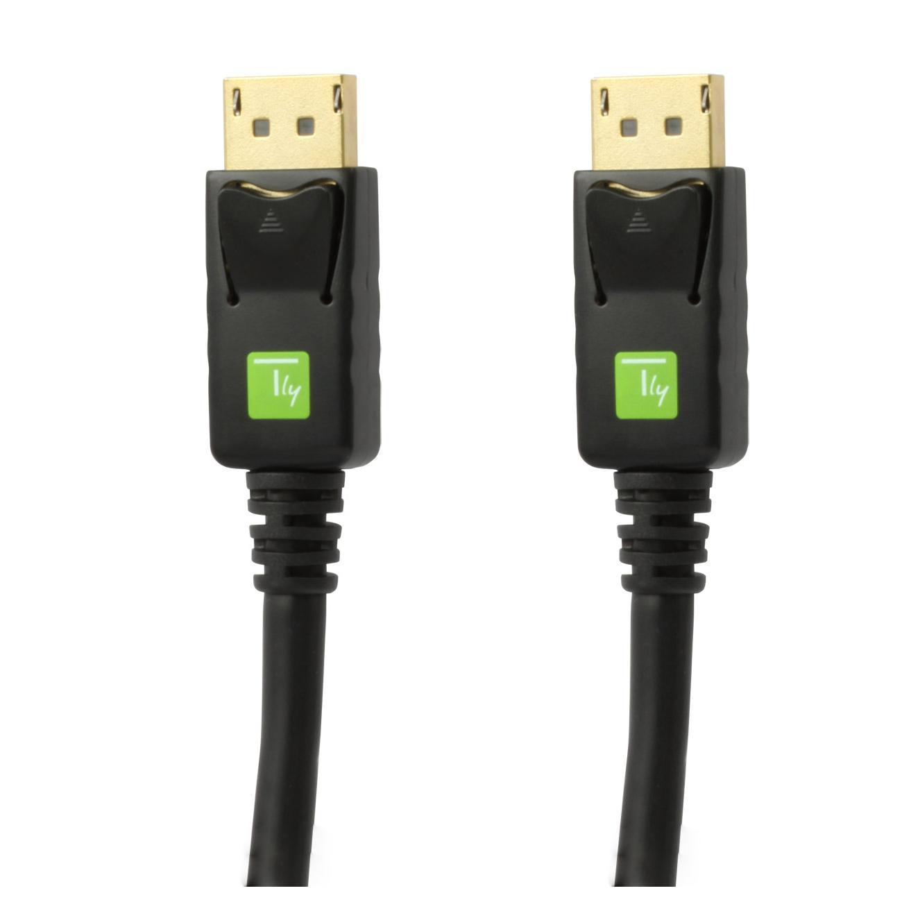 Cavo Audio/Video DisplayPort M/M 3 m Nero